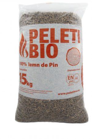 Peleti 100% lemn Pin